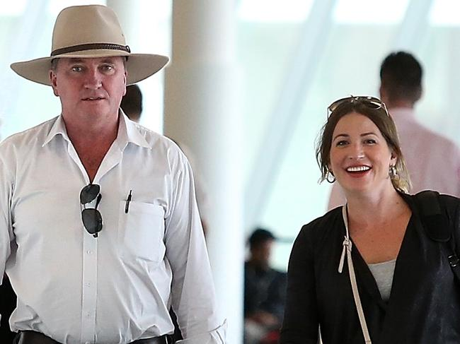Former Deputy Prime Minister Barnaby Joyce has no doubts he is the father of Vikki Campion's son Sebastian. Picture: Kym Smith