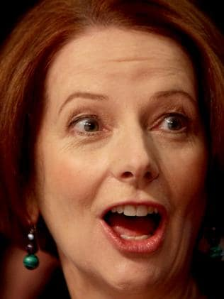 Campaign ... the scheme was central to Julia Gillard's 2010 launch.
