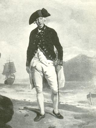 Vice-Admiral Arthur Phillip by Francis Wheatley.
