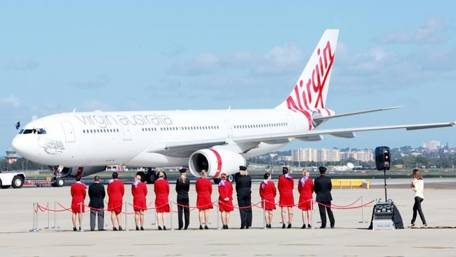 Winning. Virgin Australia has scored a rare win over Qantas in a comparison of frequent flyer programs. Pic: Supplied.