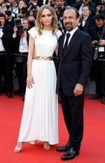 "Director Asghar Farhadi and Lily-Rose Depp attend the ""Ismael's Ghosts (Les Fantomes d'Ismael)"" screening and Opening Gala during the 70th annual Cannes Film Festival at Palais des Festivals on May 17, 2017 in Cannes, France. Picture: Getty"