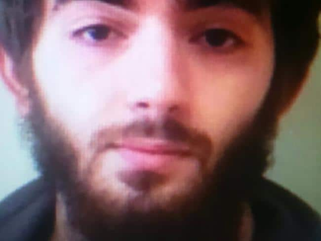 The suspect Khamzat Azimov, 20, is believed to have appeared in a chilling IS video. Picture: AFP Photo
