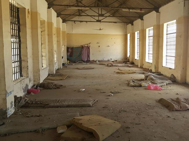 A deserted cell in the public section of Aden Central Prison. Picture: Maad El Zikry/AP