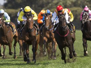 Washington Heights ridden by Kerrin McEvoy wins Race 5, the Schweppes Shannon Stakes during The Golden Rose Race Day at Rosehill Racecourse in Sydney, Saturday, September 23, 2017. (AAP Image/ Craig Golding) NO ARCHIVING, EDITORIAL USE ONLY