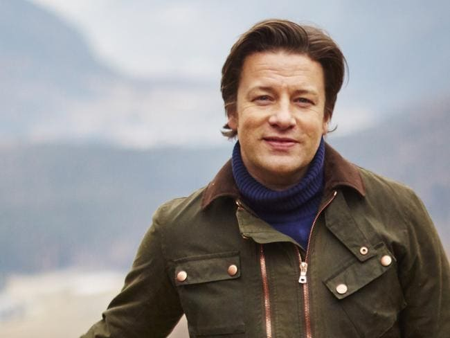 Jamie Oliver is a fan of Australian food culture. Picture: Channel 10