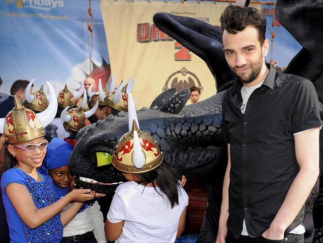 Jay Baruchel attends a photocall for  <i>How To Train Your Dragon 2 </i>in New York.