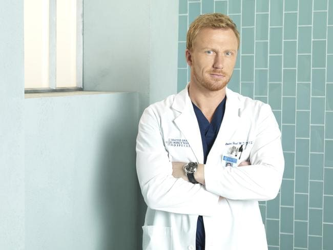 Staying on ... Kevin McKidd thought he faced unemployment when co-star Sandra Oh left the show. Picture: Supplied