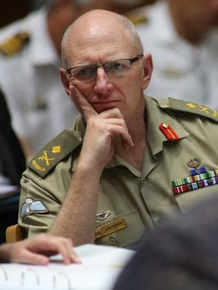 Major General John Frewen also appeared at the Senate estimates hearing. Picture: Gary Ramage
