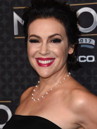Alyssa Milano started the #MeToo campaign. Picture: AFP