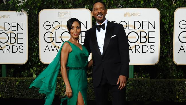 Jada Pinkett Smith and Will Smith: Still going strong after 20 years and countless rumours. Picture: Jordan Strauss/Invision/AP