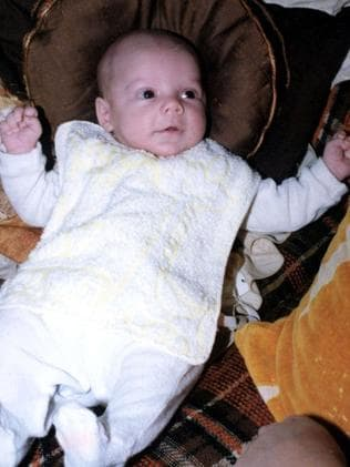 Baby Patrick Folbigg in undated copy photo, died at 8 months old. Photo: Supplied