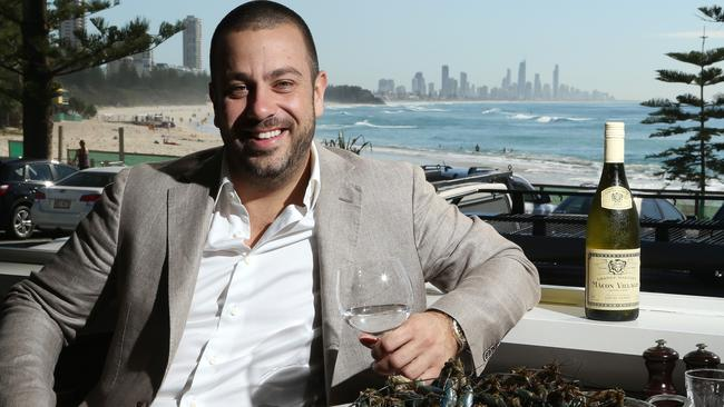 Simon Gloftis owner of the Fish House at Burleigh Heads.