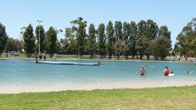 The Millicent Swimming Lake on a hot day. Picture: Flickr