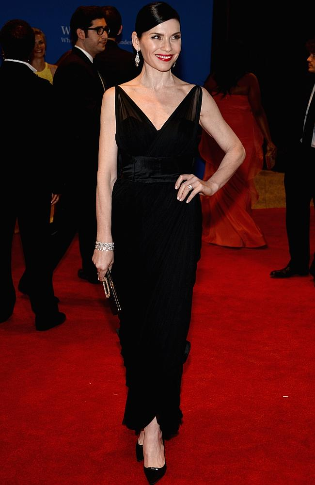 The very good-looking Good Wife, Julianna Margulies. (Photo by Dimitrios Kambouris/Getty Images)