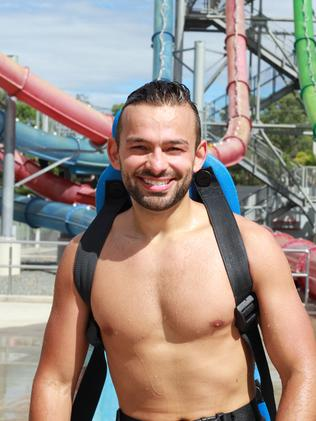 WILD FUN: Matt recommends taking plenty of sunscreen to Wet'n'Wild Gold Coast.