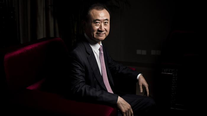 Chairman of China's Wanda Group Wang Jianlin.