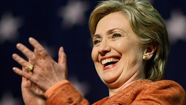 This would be the face on ever Hillary fan if she officially decided to run.