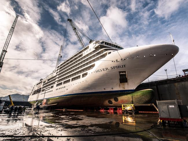 The lengthening process cost a whopping $93 million. Picture: Silversea