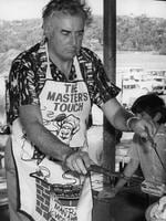 PM Gough Whitlam at Labor party picnic at National Fitness camp, 30/04/72. pic News Limited.