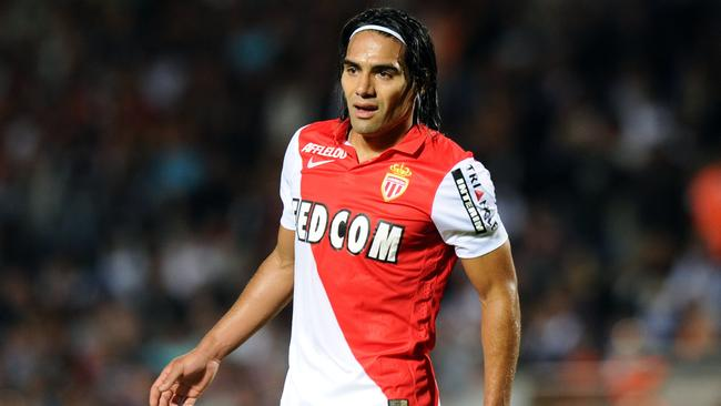 Monaco's Colombian forward Radamel Falcao is being lined up by several European clubs.