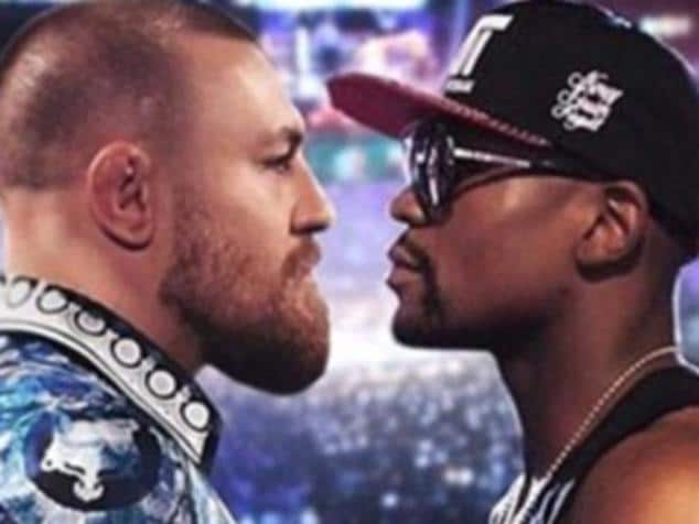 Mayweather vs McGregor. Picture: Supplied