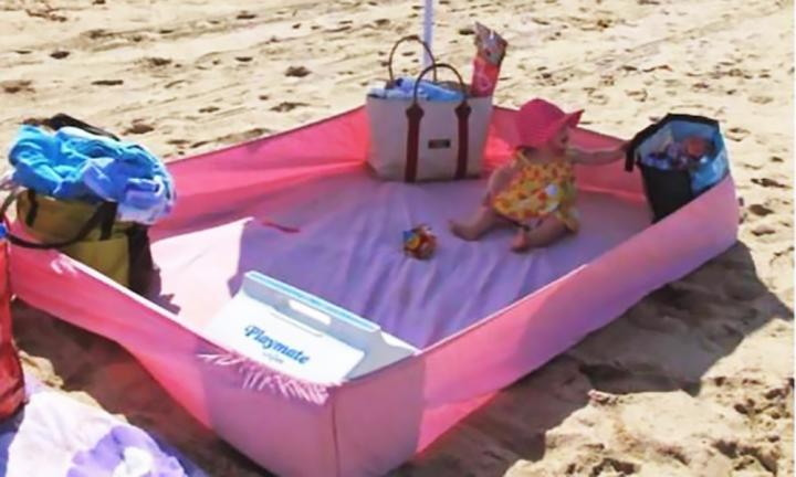 7 genius beach hacks for summer with kids