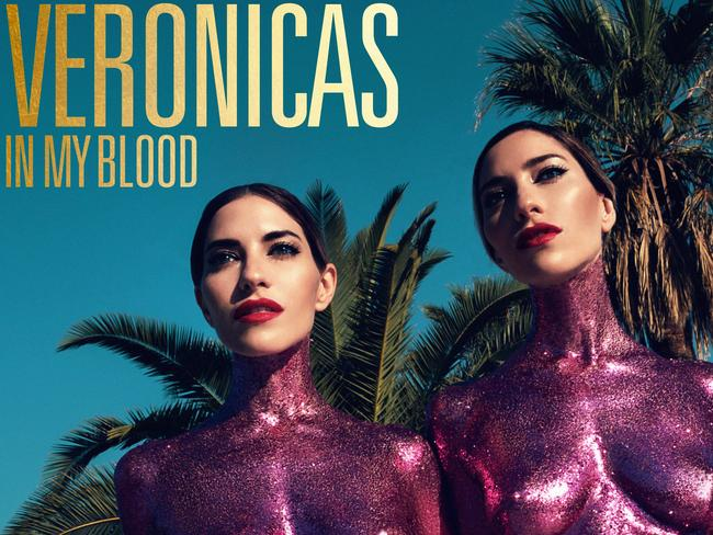 The Veronicas new single In My Blood. Picture: Sasha Samsonova / Sony Music