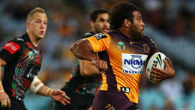 Sam Thaiday got among the points for Brisbane,