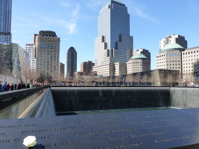 The 9/11 Memorial in New York City. Picture: Angela Saurine