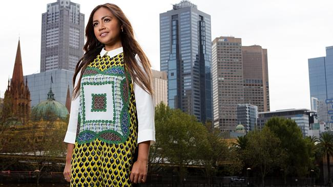 No borders ... Jessica Mauboy will be the first solo artist from outside the European Union to perform at the iconic Eurovision Song Contest in May. Picture: Mark Stewart
