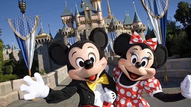 What have Mickey Mouse and Minnie Mouse seen inside the walls of Disneyland?