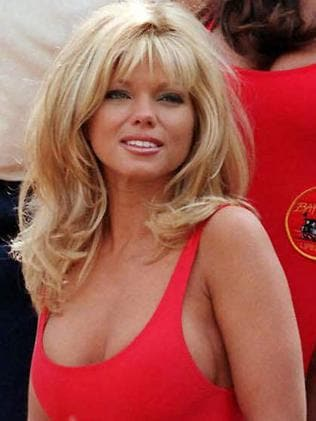 Baywatch's Donna D'Errico as Donna Marco. Picture: Supplied