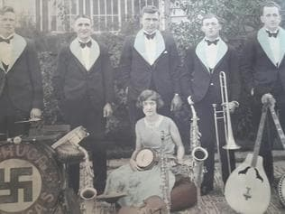 In Black and White column: The Swastika Orchestra played in Echuca in the 1930s.