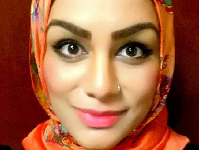 Tahera Ahmad was infamously not allowed to open a can of Diet Coke on a United Airlines flight in case she used it as a weapon. Picture: Facebook