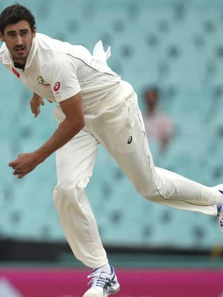 See Mitchell Starc tear through the opposition on Fox Sports. Image: supplied