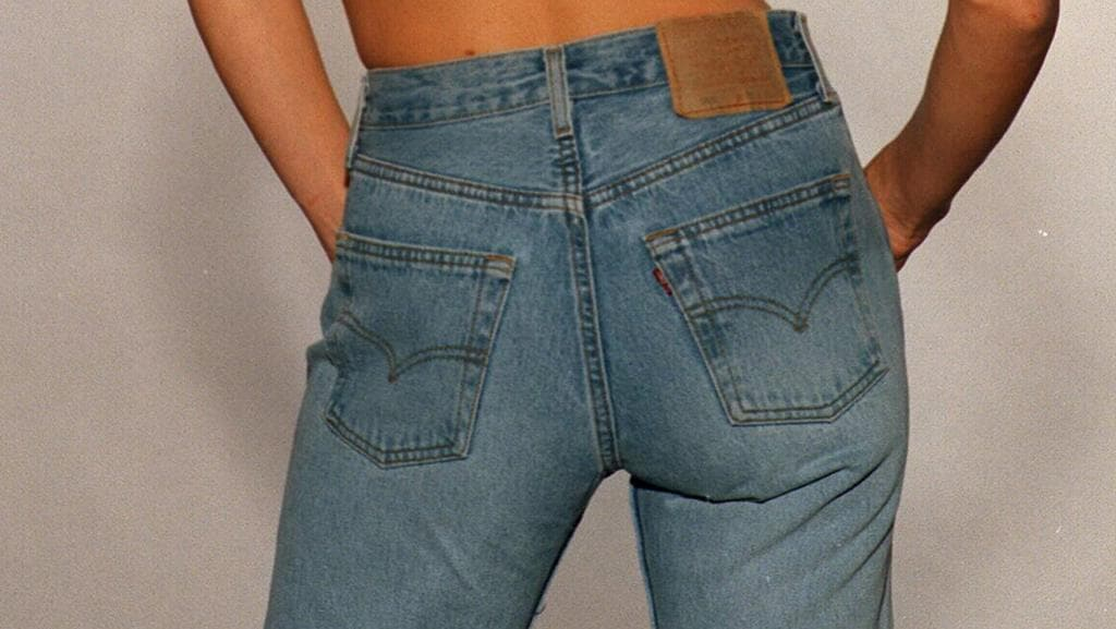 Levi strauss ceo chip bergh says it s ok not to wash your jeans the courier mail - Levis ceo explains never wash jeans ...