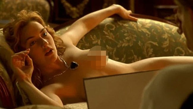 Apologise, Kate winslet breast in titanic sorry, that