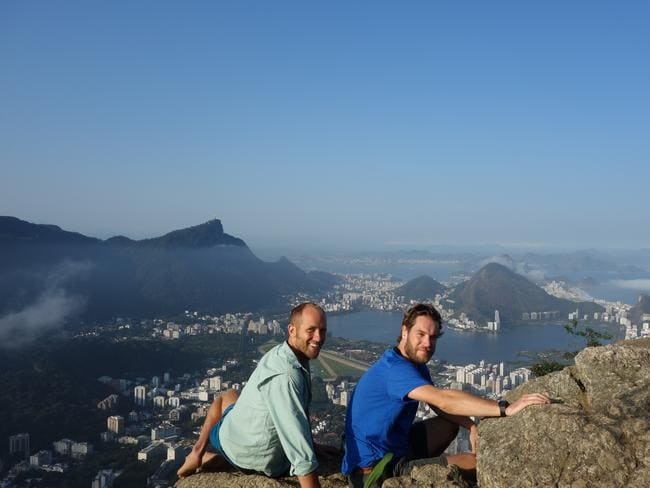 Checking out the sights of Rio. Picture: Discovery Channel