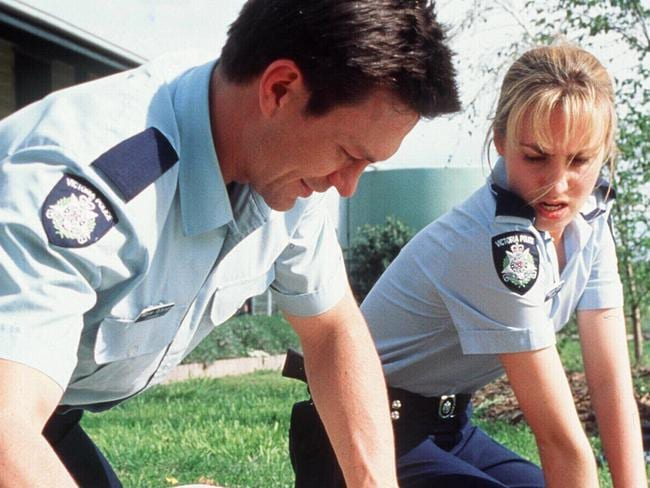 Grant Bowler and Lisa McCune were two stars who got their first big break on Blue Heelers.