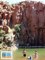 PARKS FOR PEOPLE - Carmen Forde - Python Pool near Karratha.