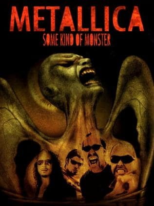 Pedal to the metal ... Some Kind Of Monster movie poster.