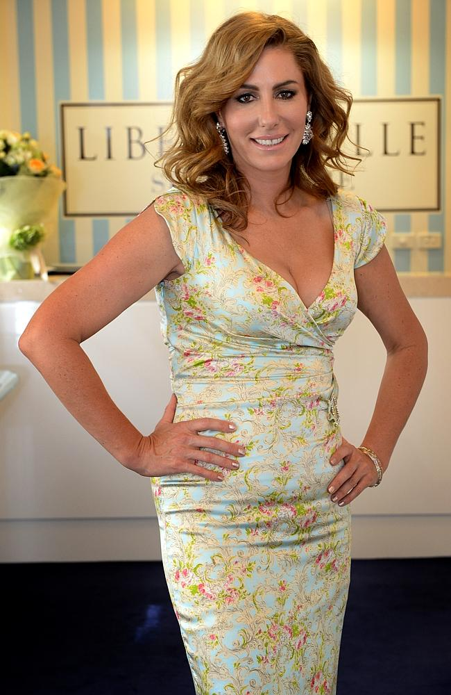 Strong minded... Andrea Moss, one of  <i>The Real Housewives of Melbourne</i>, at her skin care centre Liberty Belle. Source: News Limited