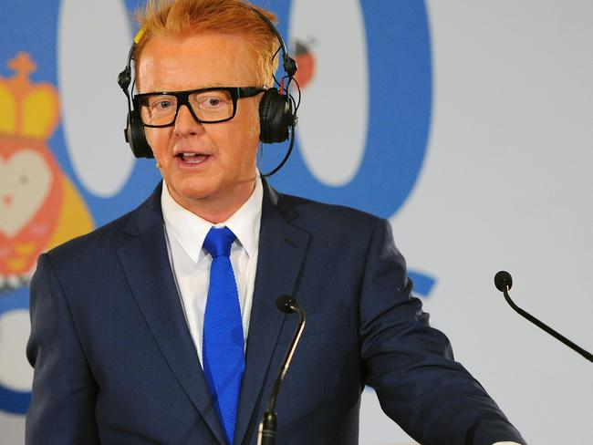 The new Top Gear host, radio DJ Chris Evans.