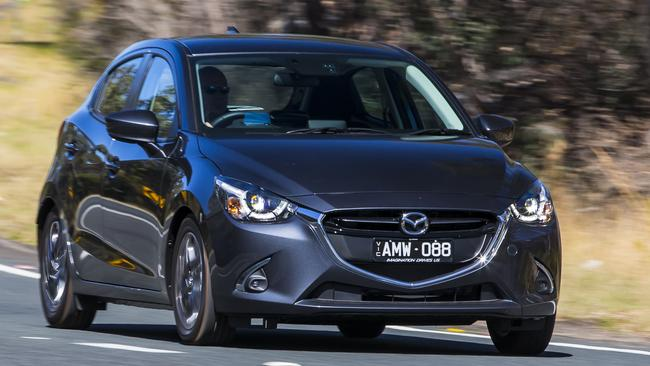 The Mazda2 Genki is the dearest, but the best equipped. Photo: Supplied.