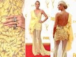 Heidi Klum attends the 67th Annual Primetime Emmy Awards in Los Angeles. Picture: Getty