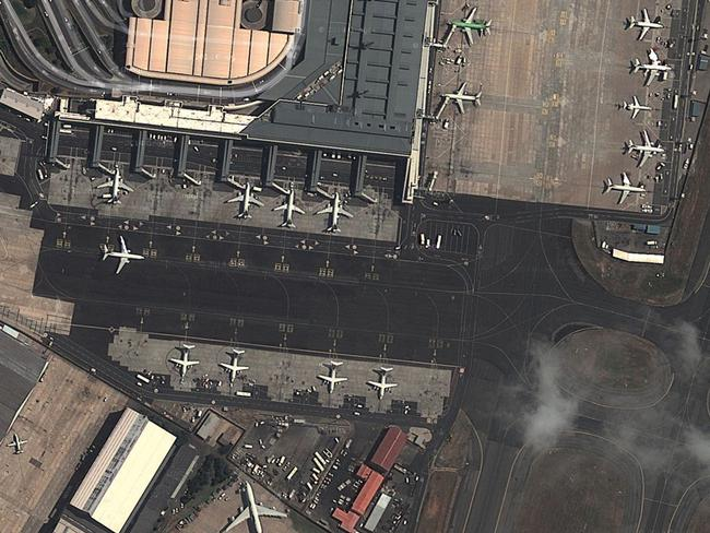 Madrid-Barajas Airport. Picture: Lauren O'Neil