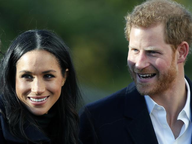 Meghan Markle and Prince Harry's wedding will be the British society event of 2018. Picture: AP