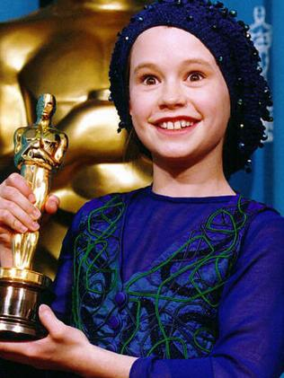 Anna Paquin is no longer the 11-year-old we remember winning her Oscar for The Piano. Picture: Supplied