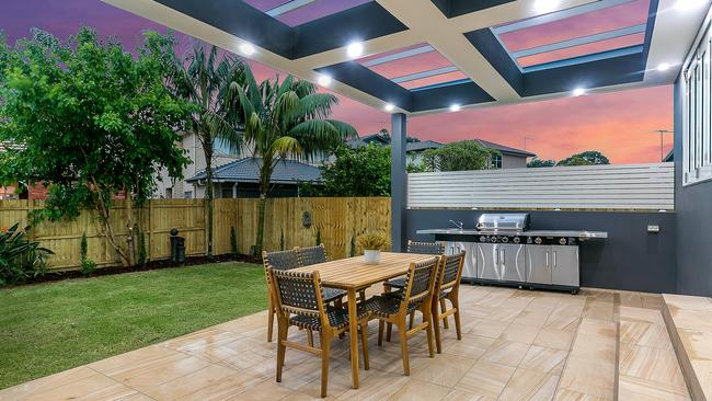 The outdoor space is perfect for entertaining. Picture: Supplied