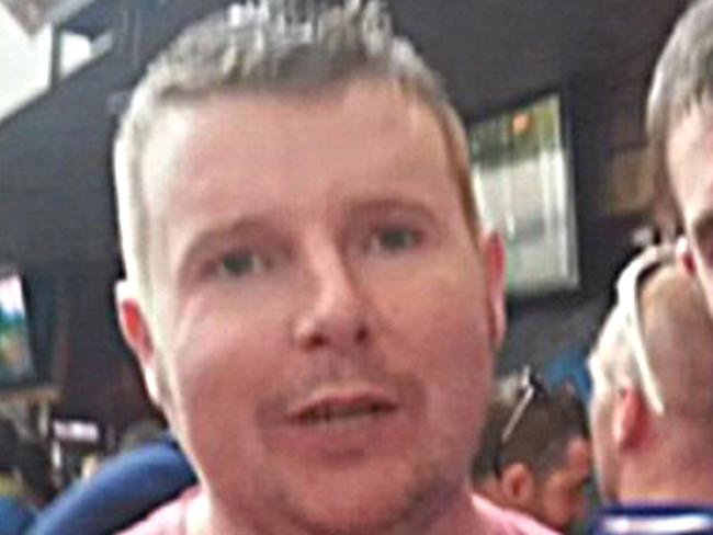 Irishman Donie O'Sullivan (above) nearly died in 2014 after getting trapped in a Bondi Junction stairwell where he was only discovered by chance five days alter. Picture: Facebook.